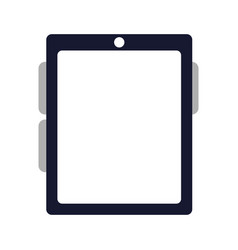electronic device tablet vector image