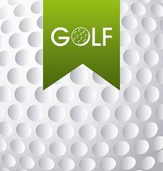 golf club emblem vector image