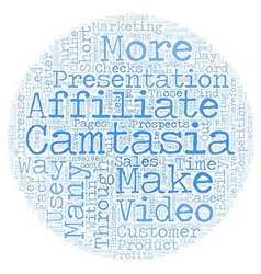 How To Use Camtasia To Increase Your Affiliate vector