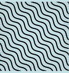 stripes black colour on a blue background vector image