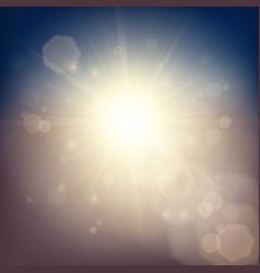 Sunlight soft background vector