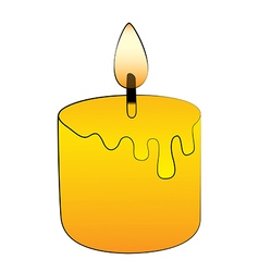 Candle stick vector image