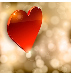 Luxury Heart vector image