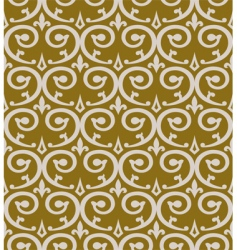 curl seamless pattern vector image vector image