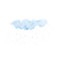 abstract rain clouds in sky design vector image