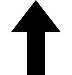 arrow icon upload arrow icon vector image