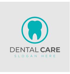 Dental logo design template creative sign vector
