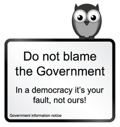 Government Blame vector
