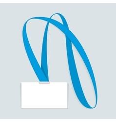 Id card mockup vector