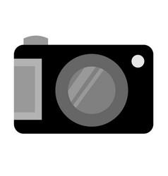 isolated pocket camera vector image