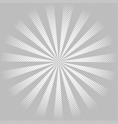 retro ray background with lines of gray color vector image