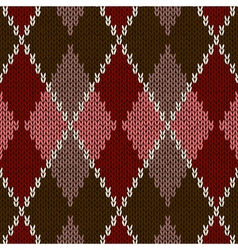Seamless Red Pattern vector image