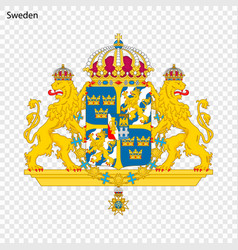 symbol of sweden vector image
