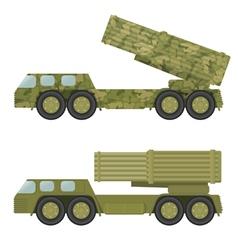 Military rocket launcher vector image vector image