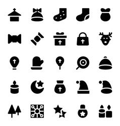 Christmas Icons 7 vector image