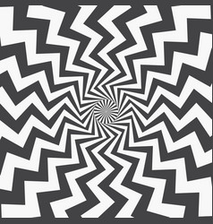 abstract background curved zigzag stripes vector image