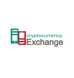 Alleged company logo related to crypto currency vector