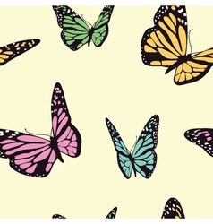 Butterfly seamless vector