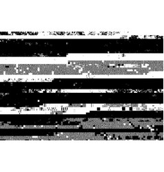 glitched overlay background vector image