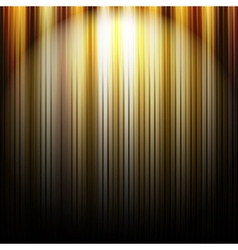 Gold Background With Lines vector image