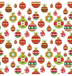 Holiday seamless background vector