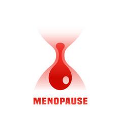 Menopause icon vector