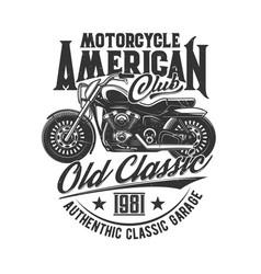 motorcycle races bikers club motorbike riders vector image