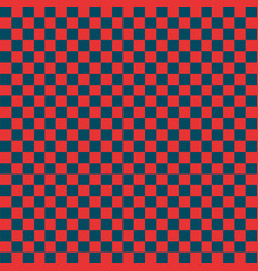 Red and yellow checkered background vector