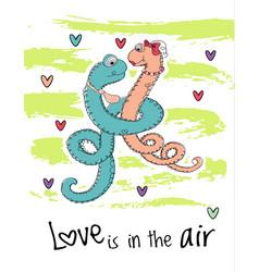 Saint valentines day card vector