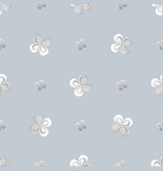 shamrock wallpaper st patrick s day seamless vector image