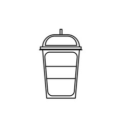 soft cold drink vector image
