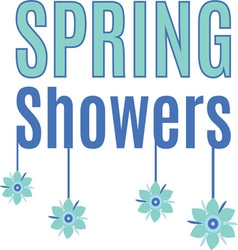 Spring Showers vector