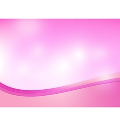Abstract background pink curve and layed element vector image vector image