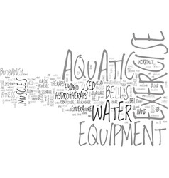 Aquatic day trips text word cloud concept vector
