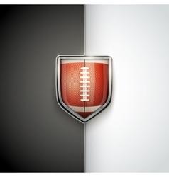 Premium Template of US Football vector image