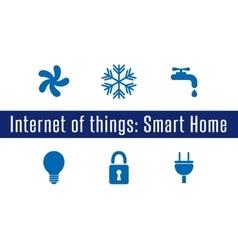 IoT - Smart Home vector image