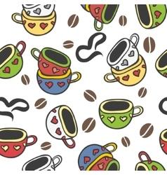 Cup doodle vector