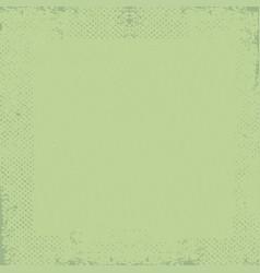 green grunge vintage old paper background vector image