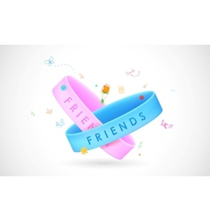 Happy Friendship Day Greetings vector