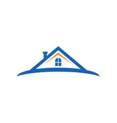 Home realty construction logo image vector