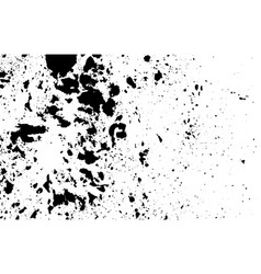 Ink abstract grunge aged textured print vector