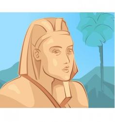pharaoh vector image