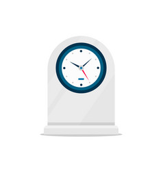 Table clock watch time sign vector