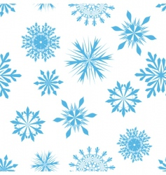 snowflakes background vector image vector image
