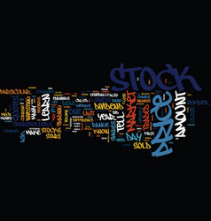Learn to read stock market quotes its not vector