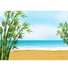 A view beach vector