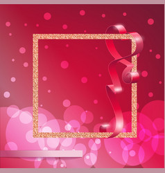 Glamour background vector