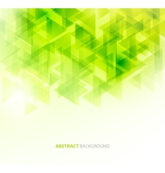 Green shiny technical background vector image