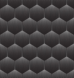 Halftone Seamless Pattern vector image