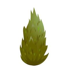 icon bush vector image